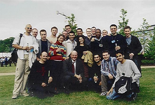 EMEA SA 2001 Steve Ballmer