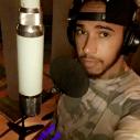 Lewis Hamilton war abseits der Piste im Tonstudio