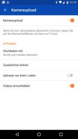 OneDrive Kamera Upload